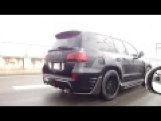 Обвес INVADER L60 на Lexus LX570