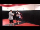 Chad Griggs тренируется перед боем с Gian Villante