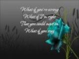 Chuck Wicks-What If You Stay(Lyrics)
