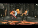 Kitana - Sindel - Mortal Kombat 9 | tag team trailer #2 [HD] OFFICIAL Trailer MK9 (2011) PS3