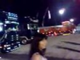 Scania R620 V8 sound a Misano Circuit