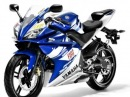 New yamaha yzf r125 2009 Race Replica Valentino rossi 46