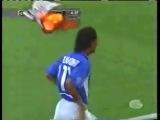 Уникальный гол Роналдиньо в ворота Англии