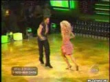 Willa Ford and Maksim Chmerkovskiy dance the Mambo
