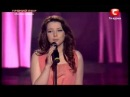 Прямой эфир 4 X-Фактор Татьяна Зотова - Ты отпусти!