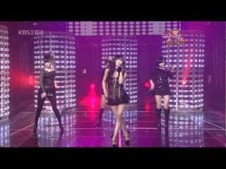 태연(Taeyeon) & 가인(Gain) & 선예(Sunye) & 남규리(Nam gyu ri) - Buttons (081226, HD Live)
