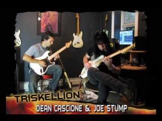 Joe Stump with the pupil Dean Cascione neoclassical jam