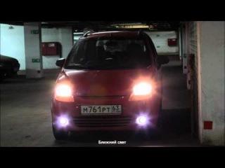Chevrolet Spark с линзованным ксеноном PJT-05A (5G) от www.linza55.ru