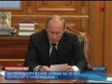 В. Путин заявил о необходимости перевооружения российской армии и флота.