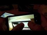 iPhone 4 vs HTC Desire HD vs HTC HD7 vs Samsung Omnia 7 part. 2/2 + English subtitles