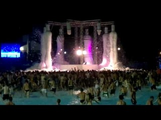 World Biggest Foam Party @ Aquafan, Riccione ITALY