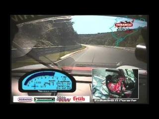 VLN 05 2011 Sabine Schmitz Frikadelli Racing - Quali mit einer Zeit von 8:20.161