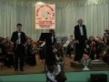 Крамарж.Концерт для 2-х кларнетов с оркестром, 2-3 части