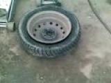 Бортировка колес взрывом