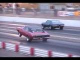 Dodge hemi 69 charger wheelie drag