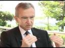 Bernard Arnault CEO LVMH talks about luxury via the internet