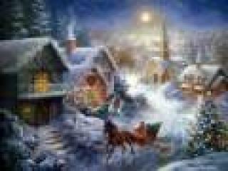 - Вальс ( Открытка - поздравление С Рождеством и Новым Годом!).^