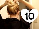 Десять самых лёгких причёсок на каждый день