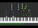 Coldplay - Viva La Vida - Adrian Lee Version (piano tutorial with sheet music)
