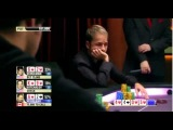 Daniel Negreanu sick call with A high at NAPT 2011 -- PCA Super High Roller