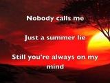Eliza G - Summer Lie (with lyric)
