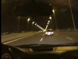 Renault Clio Sport almost crash at 230kmh