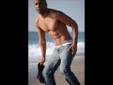 male model and dancer Vic Luna