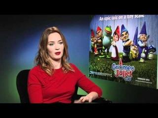 Gnomeo and Juliet Interview Emily Blunt, Matt Lucas, Ashley Jensen