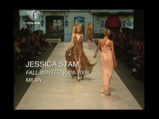 fashiontv | FTV.com - JESSICA STAM + SHEILA MARQUEZ-WOMAN-F/W 2008-09 -- MODELS