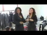 Donna De Lory and Nicki Richards, Backstage Live Earth