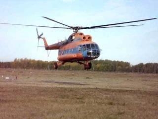 Ми-8  Омский Летно-технический колледж