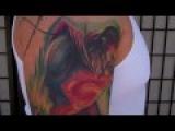 Superman Tattoo by artist Jason Dunn