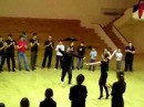 Танцует руководитель Чеченского ансамбля танца Грозный Исмаил Идрисов