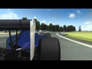 F1 2011 - ГП Великобритании. 3D-превью трассы Сильверстоун