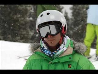 Revel8 Riders Adam, Ben and Borja Skiboarding in CO