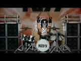 Smiti KISS - Animated Peter Criss Drum Solo MSG 1996