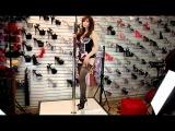 Belinda Lightning Heels Leg Avenue Stockings Lingerie