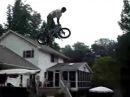 Epic BMX Pool Jump