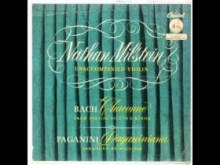 Paganiniana (Milstein, violin) - with high quality MP3 download