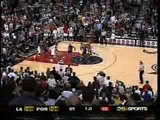 Kobe Bryant Hits 2 Buzzer Beaters vs Portland
