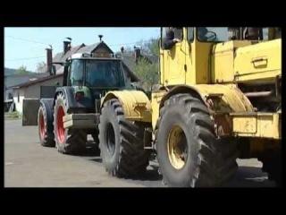Немецкий трактор против нашего Кировца К-700
