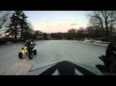 TRX LTR YFZ KFX 450 Racing on Ice