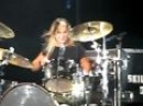 Jen Ledger Of Skillet (DRUM SOLO)