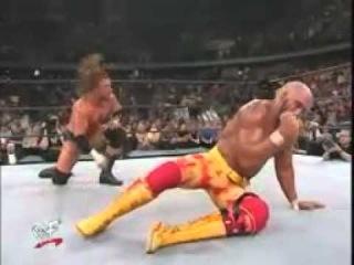 Hulk Hogan VS Triple H Undistputed Title Backlash 2002