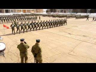 Подготовка к параду Победы 2011. Наша тренировка.