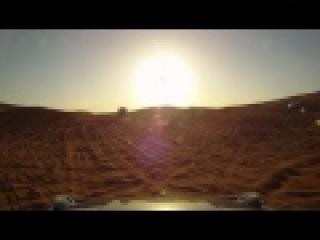 AMG G55 in dubai desert