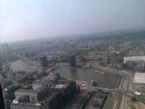 Мое видео - панорама Роттердама с вращающейся платформы (185 м)