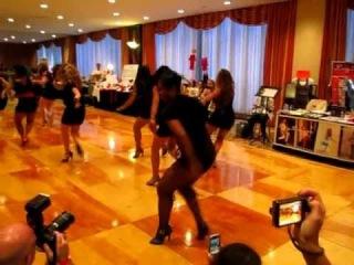 Burju Shoe Extravaganza with Sexy Salsa Divas NYISC 2010