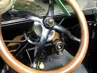 Instruction on how to drive a model T Ford detailed
