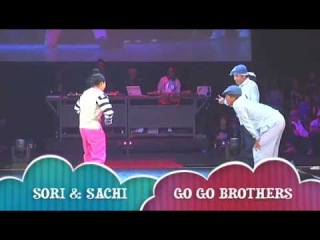LOCK SORI & SACHI vs GO GO BROTHERS